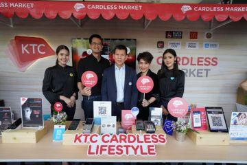"""เคทีซีชูแนวคิด """"Cardless Lifestyle เพื่อชีวิตที่ง่ายกว่า"""" จับมือพันธมิตรแบรนด์ดังออกบูธในงาน Bangkok FinTech Fair 2018"""