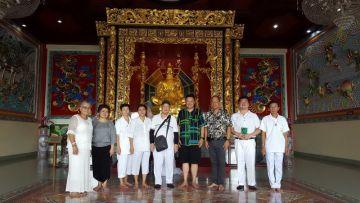 เยี่ยมชม และกราบสักการะสิ่งศักดิ์สิทธิ์ภายในวิหารเซียน ชลบุรี