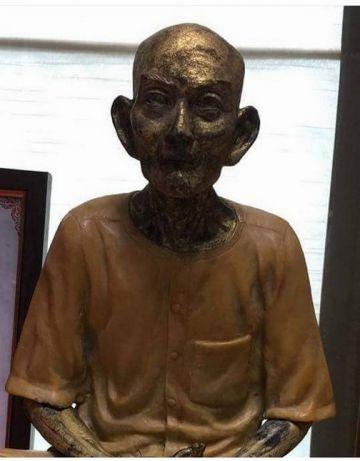 เทียน กัว สื่อ ฮก โหงว ลี่ ขอให้ฟ้าประทานพร ขอน้อมกราบสักการะ และกราบขอพรอาเหล่าแปะโรงสี ท่านอาจารย์โง้วกิมโคย ท่านหวยลั้งเซียน ท่านเซียนแปะสามตา หรือ ท่านจอซัวแปะ